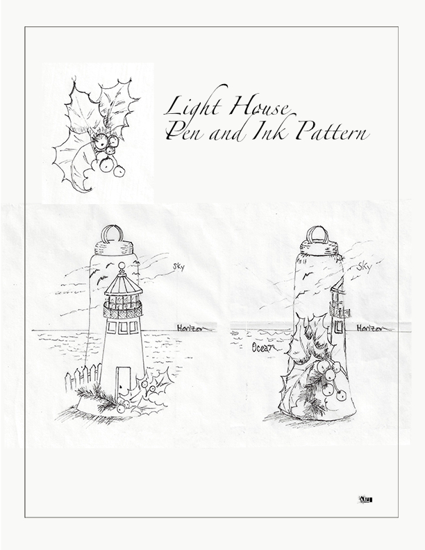 Light House Drawing
